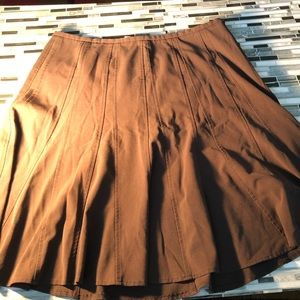 Dress barn pleated skirt